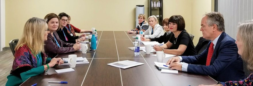 Roundtable discussion with the Honourable Ginette Petitpas Taylor, Minister of Health at the 8th Milestones of a Global Campaign for Violence Prevention Meeting.
