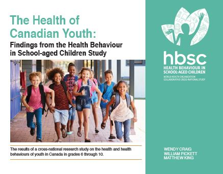 The Health of Canadian Youth: Findings from the Health Behaviour in School-Aged Children Study