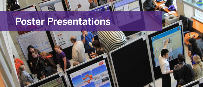 Click here for a list of poster presentations